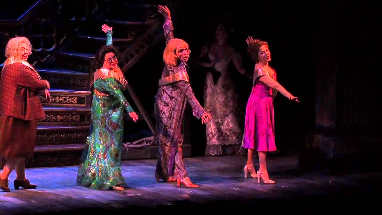 "The cast of the 2011 Broadway revival of Follies perform ""Beautiful Girls"""