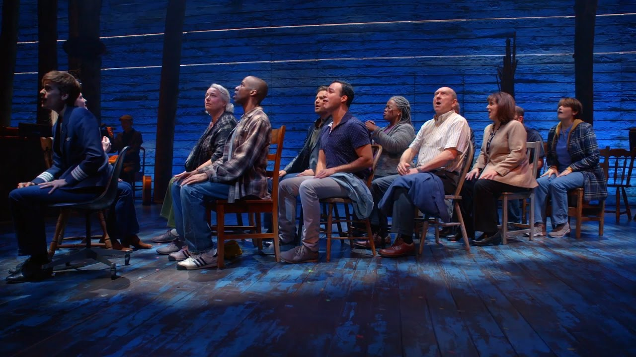 Clips from the Broadway production of Come From Away!