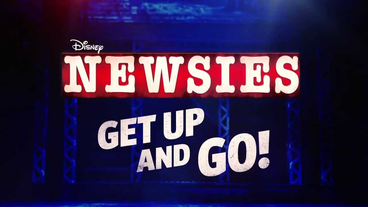Have a look at the Broadway trailer for NEWSIES!