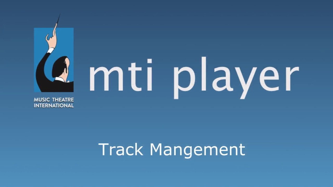 Learn about how to manage your tracks on the MTI Player app