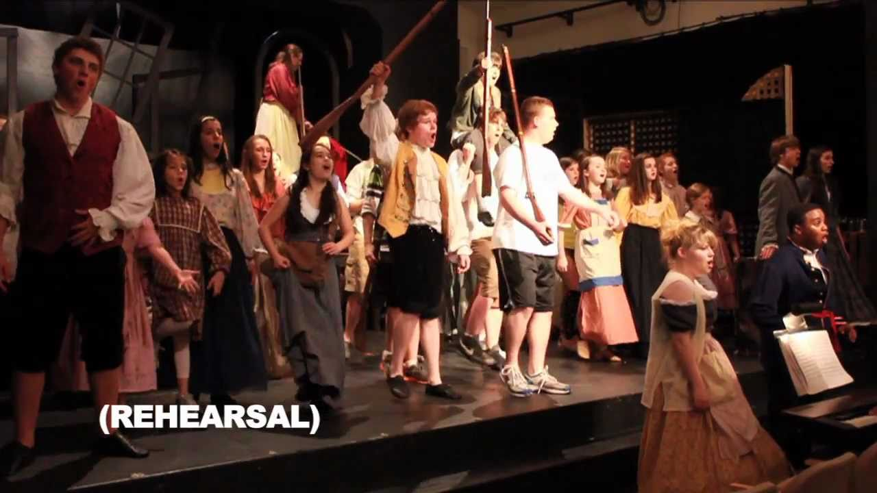 A preview of Les Miserables - School Edition at Fairmount Performing Arts...