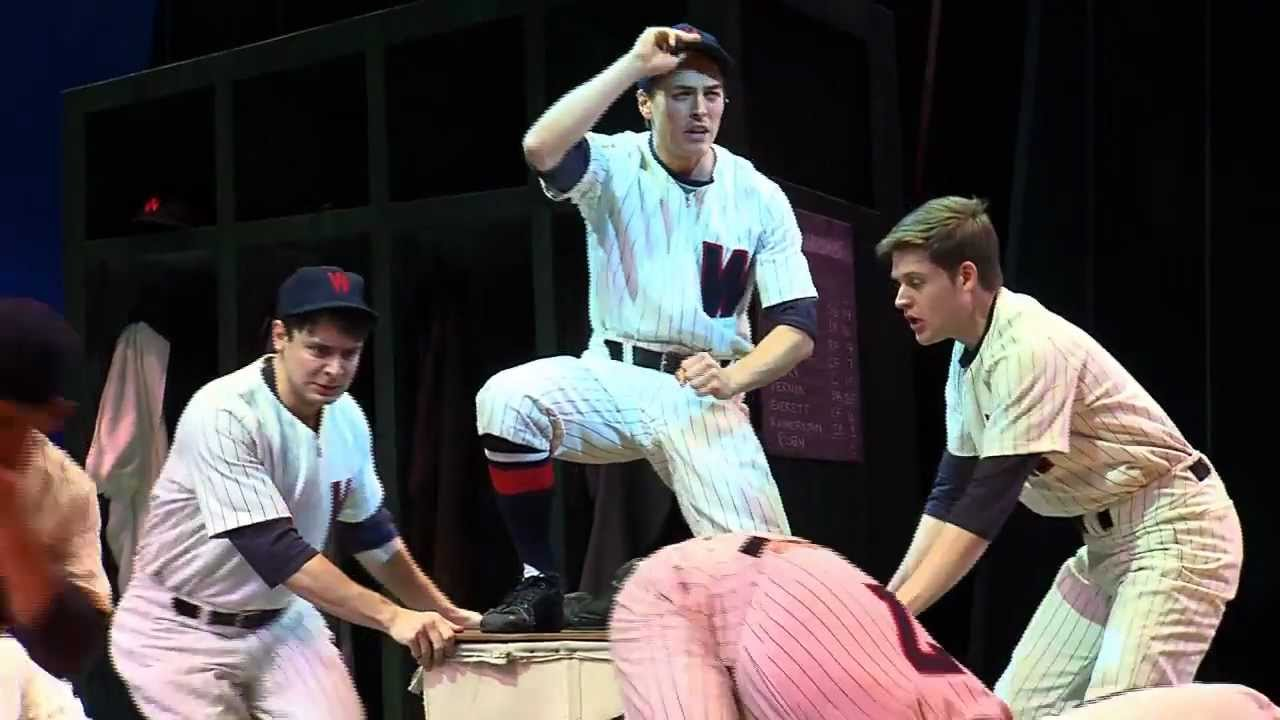Promo video for Damn Yankees at Paper Mill Playhouse
