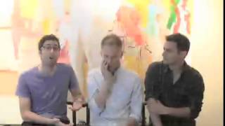 Duchan, Pasek, and Paul discuss the material behind the musical Dogfight