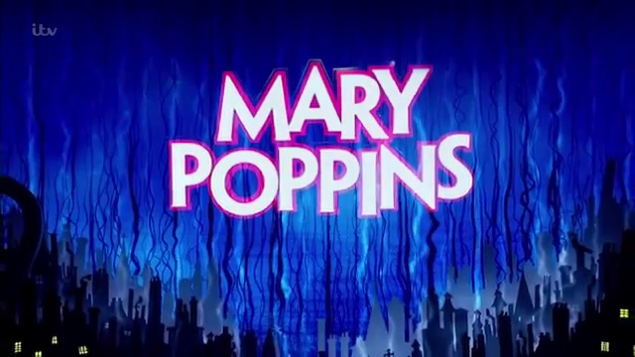 The UK touring production of Mary Poppins performs at the Royal Variety Performance
