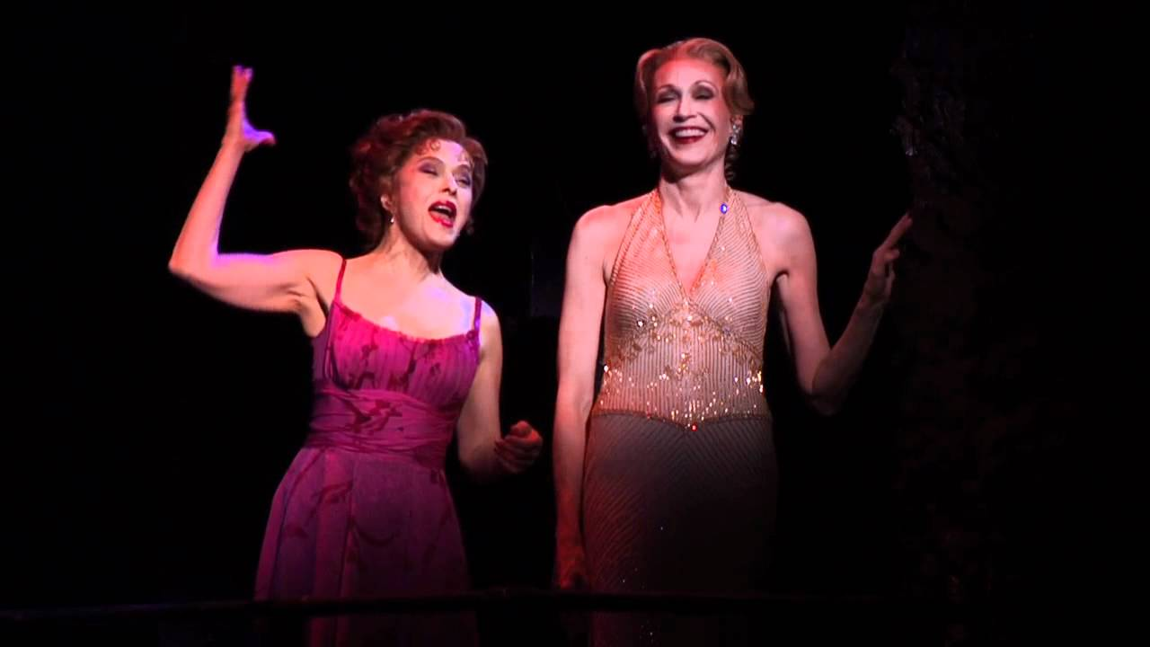 "Jan Maxwell and Bernadette Peters perform ""Waiting for the Girls Upstairs""..."