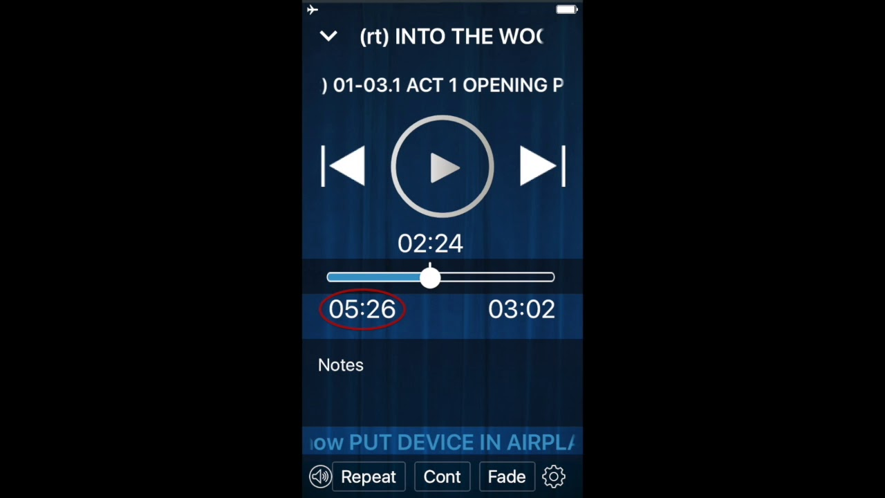 Take a closer look at downloading and playing rehearsal tracks on the MTI Player app....