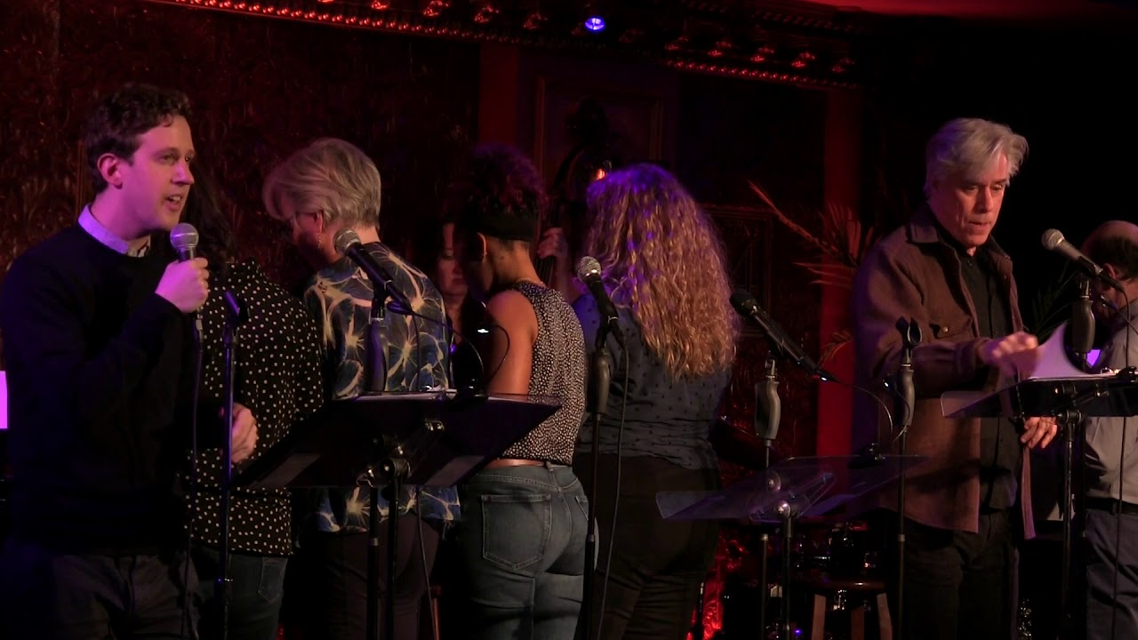 """It's Only a Play"" from Birds of Paradise in concert at 54 Below"