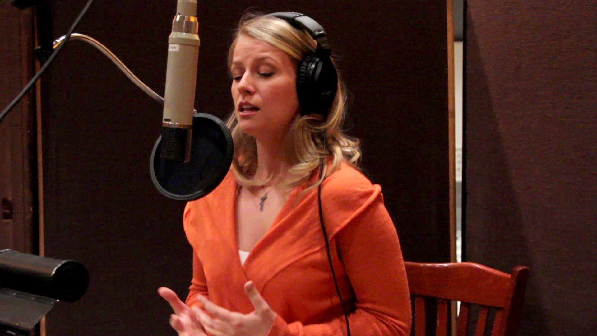 Behind the scenes of recording the cast album of the Broadway production of The...