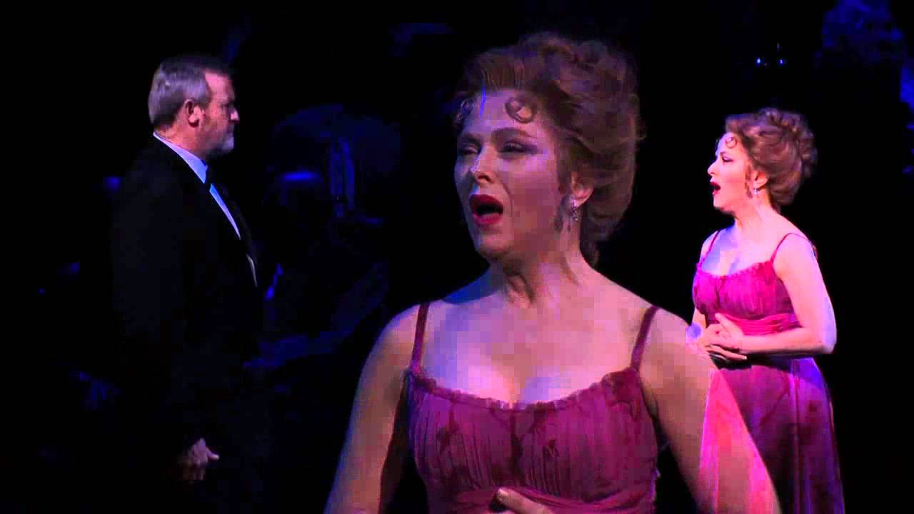 "Bernadette Peters sings ""In Buddy's Eyes"" in the 2011 Broadway revival of..."