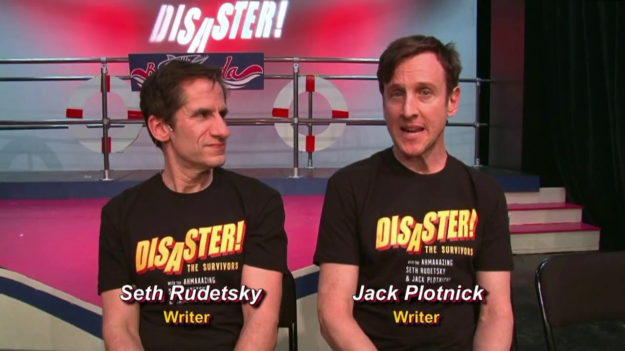 (Part 1) DISASTER co-authors Seth Rudetsky and Jack Plotnick discuss their Tucson...