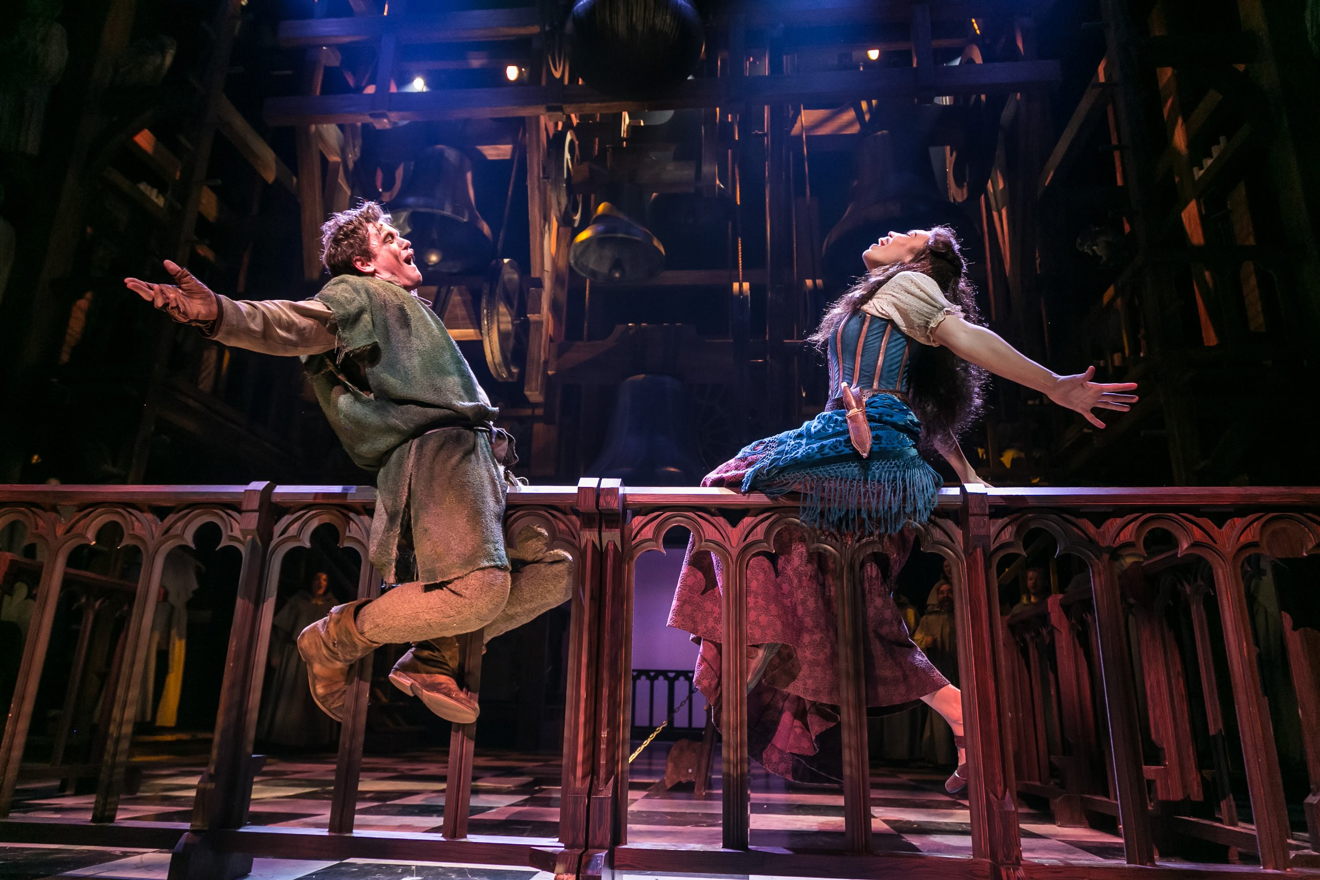 The Hunchback of Notre Dame at Paper Mill Playhouse