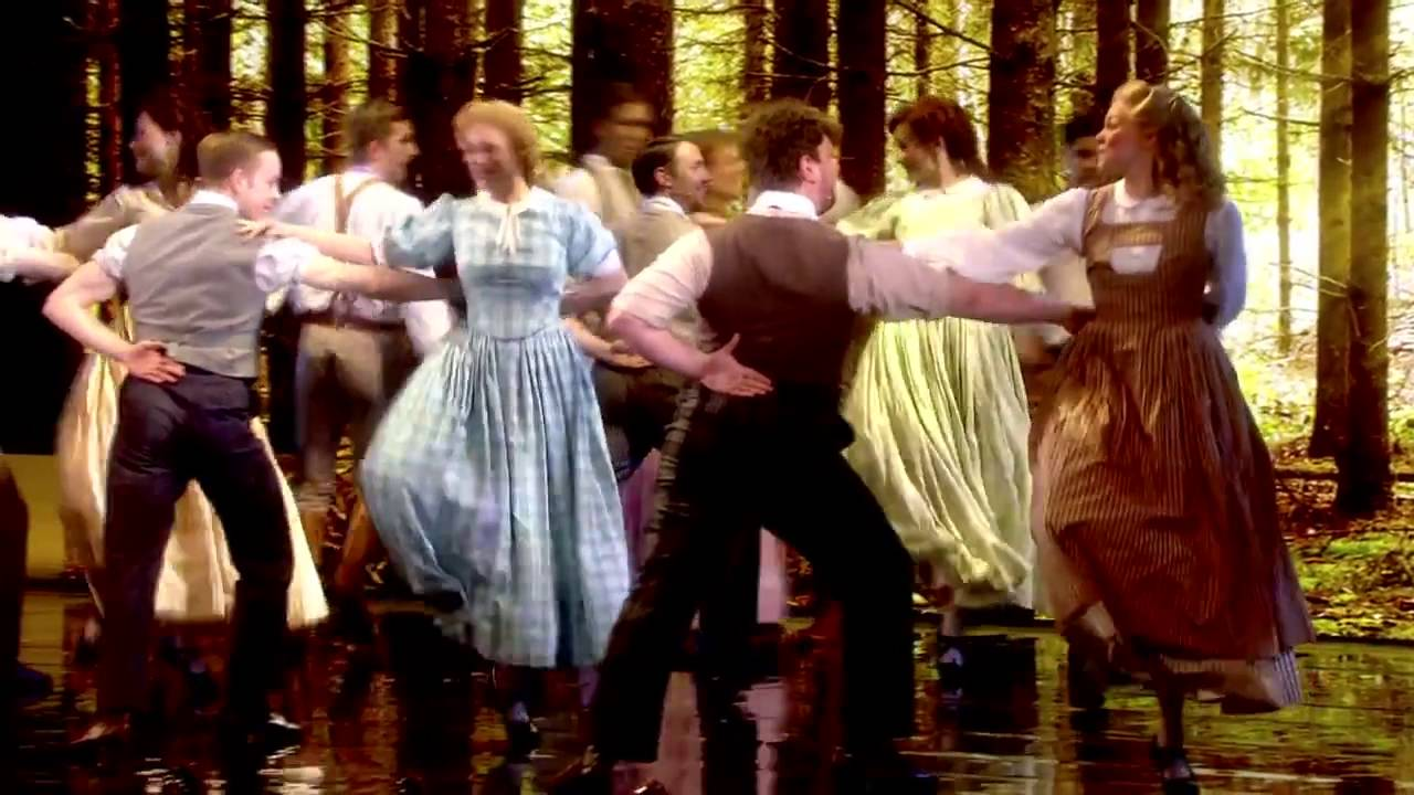 Seven Brides For Seven Brothers performance at the 2016 Olivier Awards