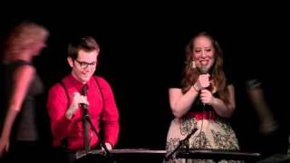 "Patti Murin and Jason Michael Snow perform ""Coming True"" from Birds of..."