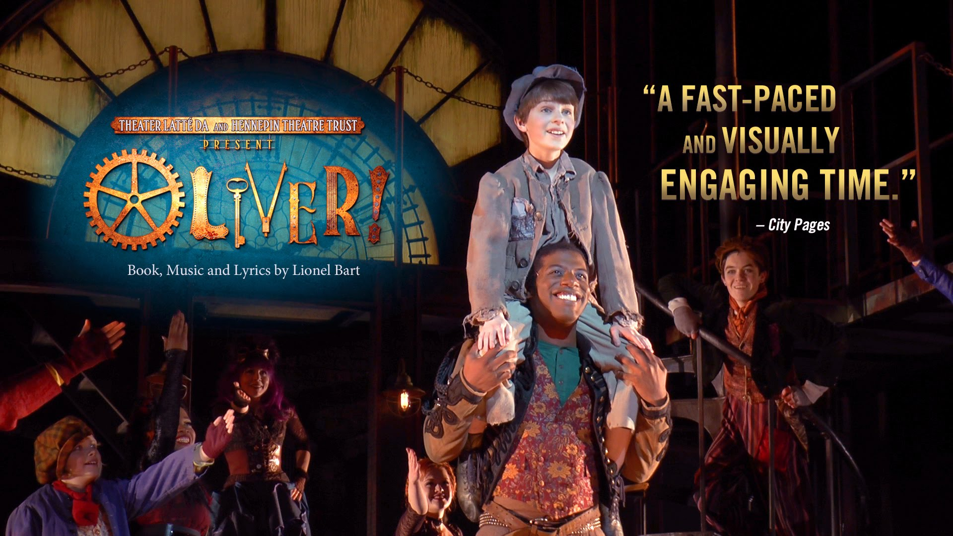 Oliver! Trailer for the Hennepin Theatre Trust