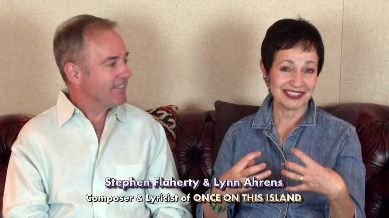 Co-authors Lynn Ahrens and Stephen Flaherty discuss Once On This Island