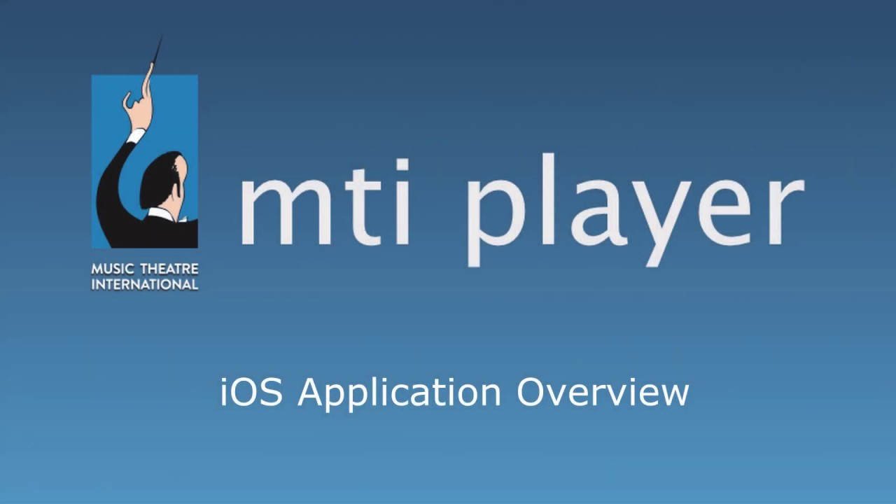 An overview of how the MTI Player works on IOS devices.