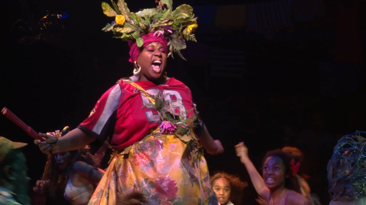A glimpse of the Tony-nominated Broadway revival of Once On This Island