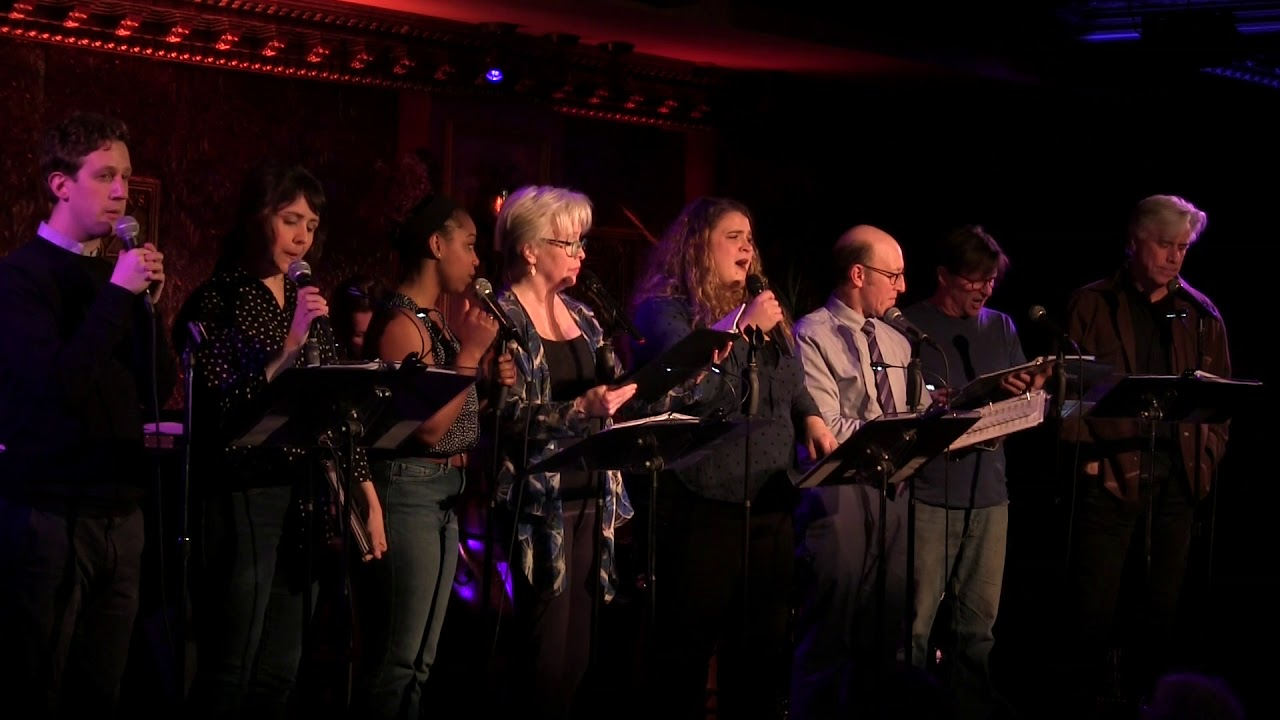"""Imagining You"" from Birds of Paradise in concert at 54 Below"