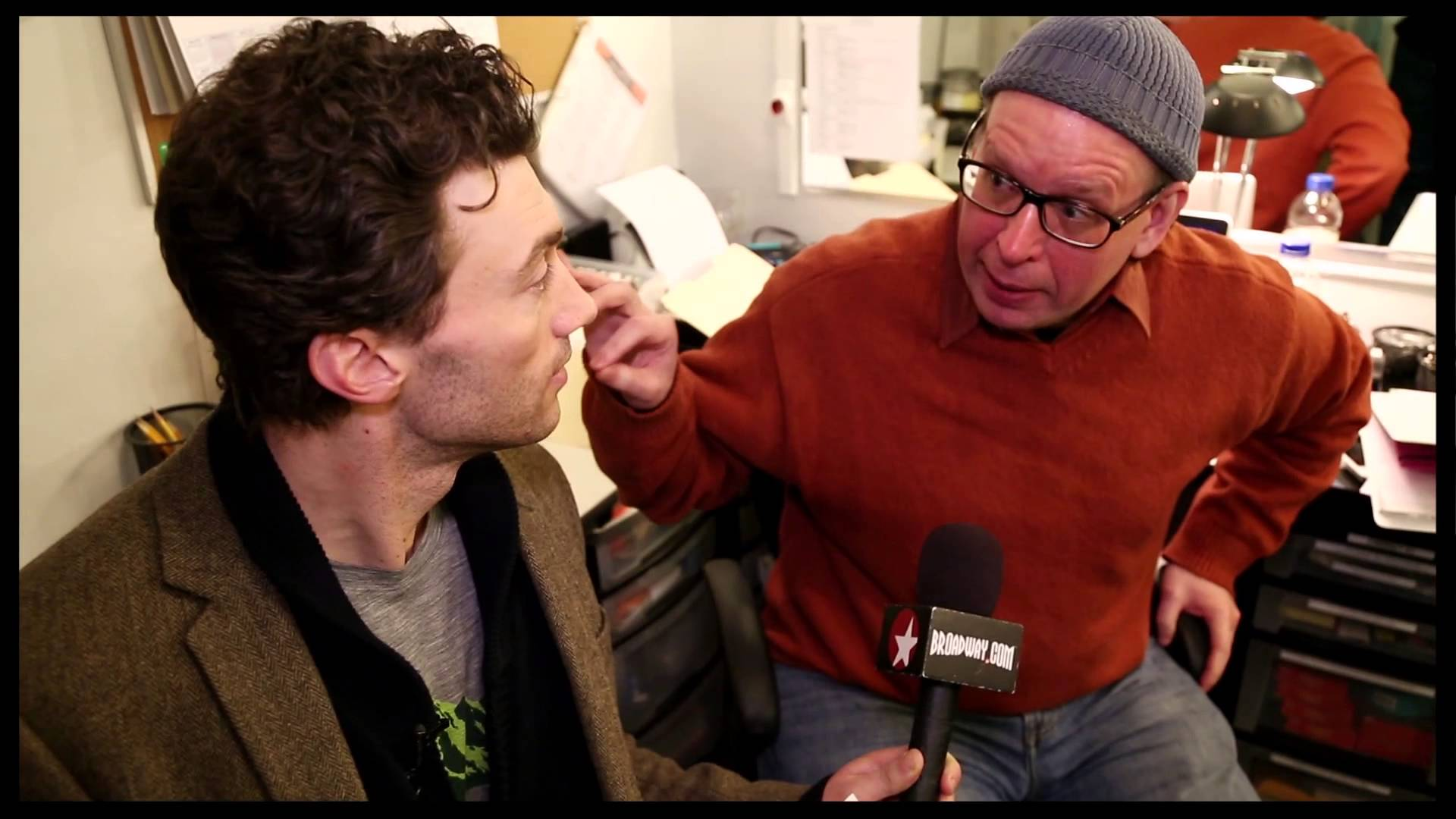 A look backstage at the Broadway production of A Gentleman's Guide to Love and...