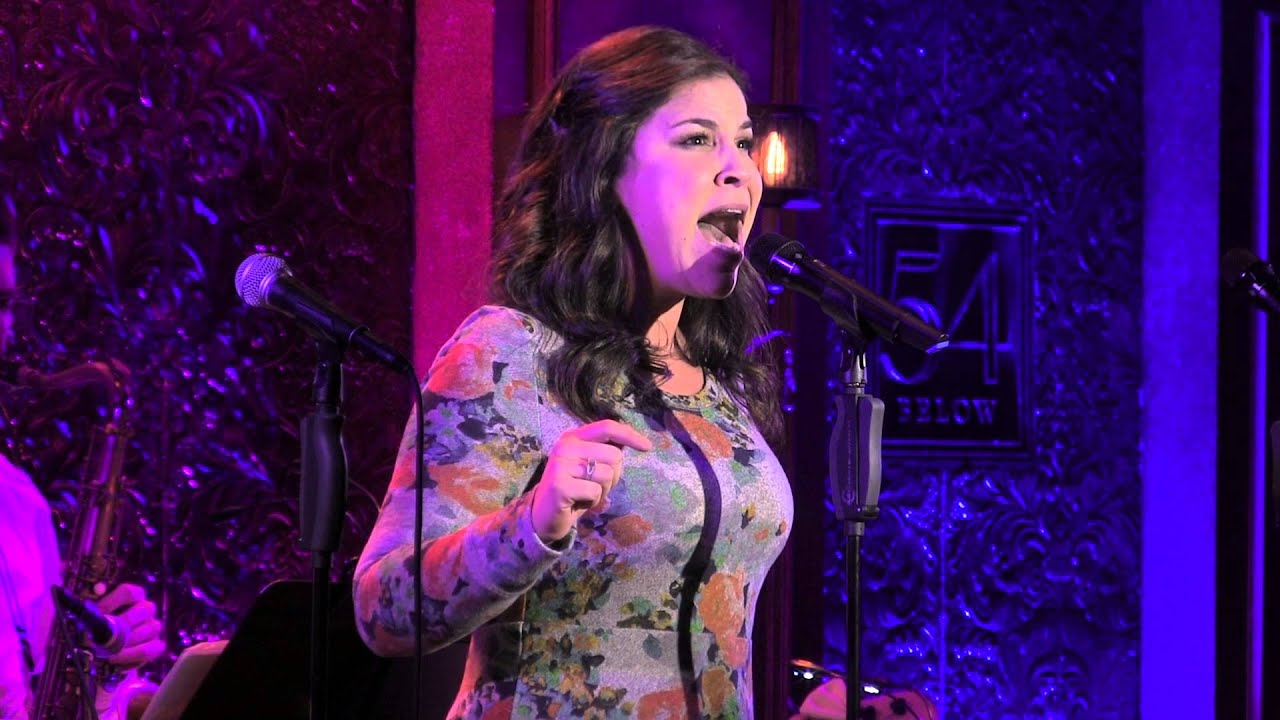 "Lindsay Mendez performs ""Lost in the Brass"" as part of Band Geeks in..."