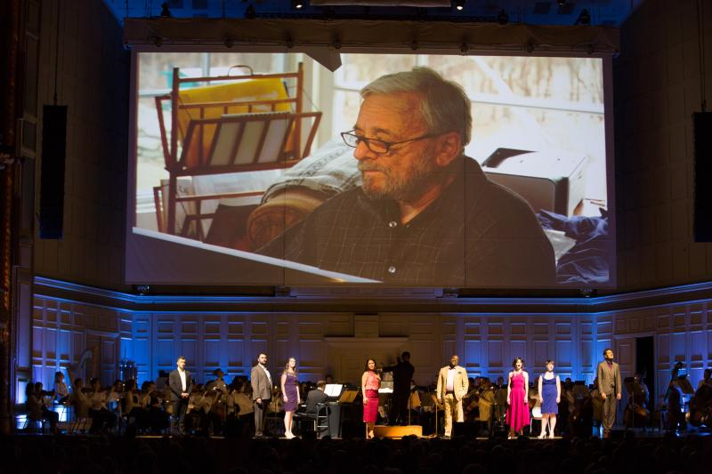 Boston Pops performs Sondheim on Sondheim at Boston Symphony Hall (BroadwayWorld).