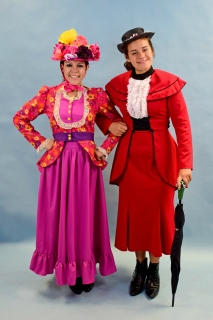 Mary Poppins - Mary Poppins Jolly Holiday & Red Suit Costumes