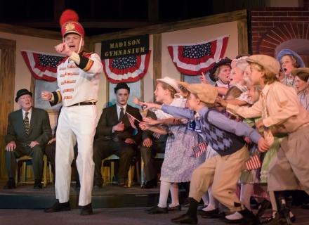 The Music Man - Harold Hill Marching Band Uniform Costume