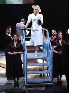Airplane stairs prop for EVITA
