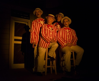 The Music Man - Barbershop Quartet Costumes (Olin Britt, Oliver Hix, Ewart Dunlop and Jacey Squires)