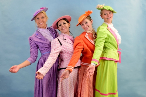 Mary Poppins - Jolly Holiday Girls Costumes