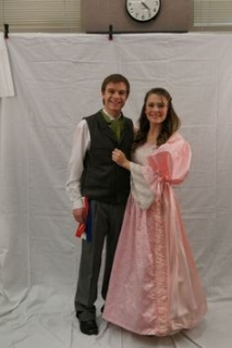 Les Miserables - Cosette and Marius Pontmercy Costumes