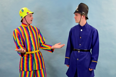 Mary Poppins Bobby Cops Jolly Holiday Costumes