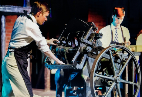Newsies Printing Press