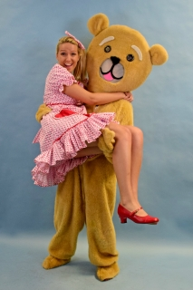 Mary Poppins Teddy Bear & Valentine Toy Costumes