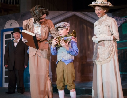 The Music Man - Mrs. Paroo, Marian Paroo, & Winthrop Paroo Costumes