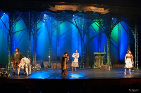 Into the Woods set rental magic forest scenery - Stagecraft Theatrical 800-499-1504