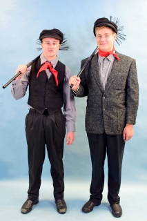 Mary Poppins Chimney Sweep Costumes
