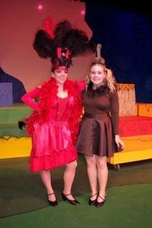 Seussical - Mayzie Labird and Gertrude Mcfuzz