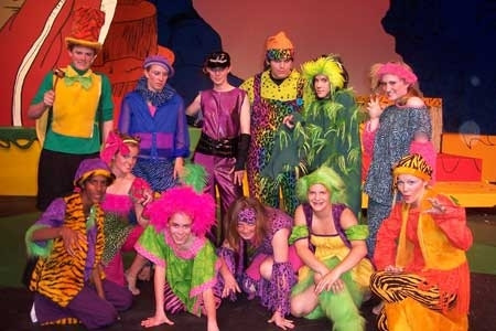 Seussical - The Jungle Creatures Costumes