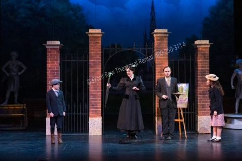 Park Gates - Mary Poppins set rental - Front Row Theatrical - 800-250-3114