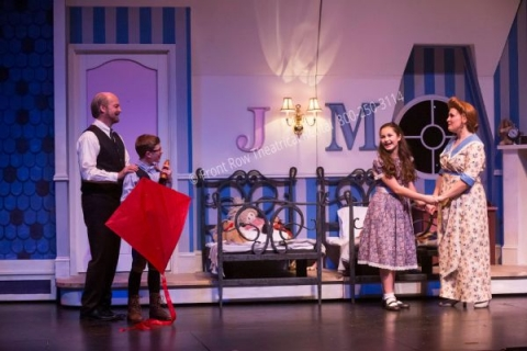 The Nursery - Mary Poppins set rental - Front Row Theatrical - 800-250-3114