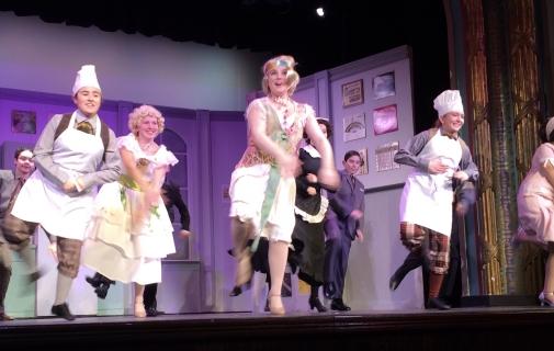 Drowsy Chaperone Cast Dance Roaring 20's Ensemble
