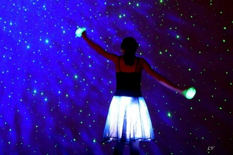 Star People glow skirts and glow spheres