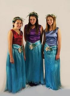 The Little Mermaid - Costume Rental Mersisters King Triton Merfolk