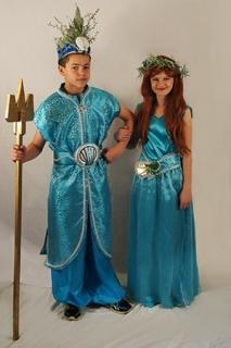 The Little Mermaid - Costume Rental Ariel King Triton