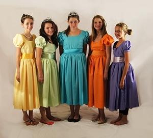 The Little Mermaid Costume Rental Princesses