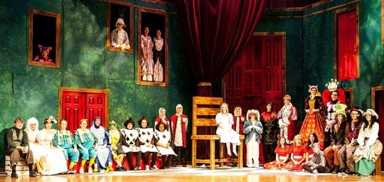 Alice in Wonderland - Stage Costumes