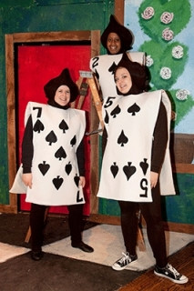 Alice in Wonderland - Card Costumes - Hearts Diamonds Clubs Spades