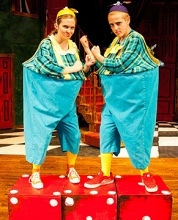 Alice in Wonderland - Tweedle Dee & Tweedle Dum Costumes