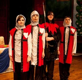 Alice in Wonderland - Knight Costumes